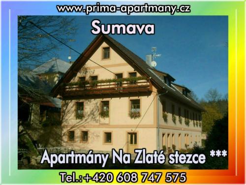 Foto - Unterkunft in Stožec - Apartmány Na Zlaté stezce *** (Stožec - České Žleby)